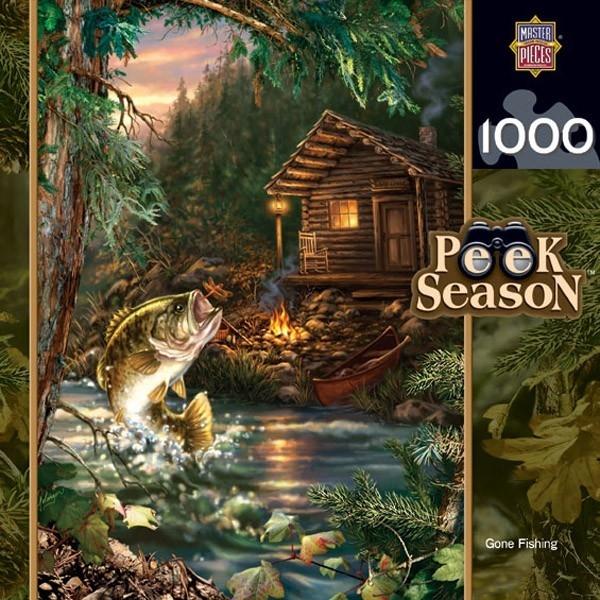【KANGA GAMES】拼圖 釣魚去 Peek Season - Gone Fishing 1000片