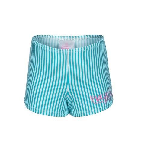 兒童泳衣 防曬短袖+平口短褲套組 Xtra Life 萊卡 澳洲鴨嘴獸 UPF 50+ 抗UV (小女4-8歲)