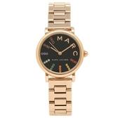 MARC JACOBS MJ手錶 MJ3569 鋼帶計時手錶 時尚腕錶