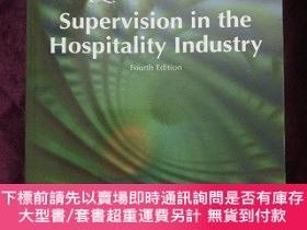 二手書博民逛書店supervision罕見in the hospitality industry(飯店業督導)Y443990