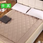 床墊   愛思縵加厚床墊1.8m床1.5米床褥子墊被可摺疊雙人軟墊榻榻米護墊ATF 三角衣櫃