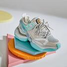 老爹鞋女 百搭休閒鞋 厚底運動鞋/2色-夢想家-標準碼-0401