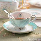 咖啡具套裝歐式咖啡杯套裝骨瓷英式下午茶具套裝陶瓷咖啡杯碟禮盒中秋節促銷