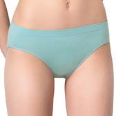 思薇爾-無痕美人系列M-XL素面低腰三角褲(青煙藍)