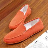 懶人鞋 春夏季新款帆布鞋女一腳蹬平跟軟底布鞋百搭鞋子女布鞋女 唯伊時尚