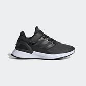 ADIDAS RapidaRun EL C [EE7076] 中童鞋 運動 休閒 慢跑 輕量 透氣 避震 愛迪達 黑灰