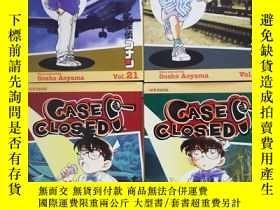 二手書博民逛書店《名偵探柯南》英文原版漫畫罕見Case Closed Vol.15、21、22、24 Gosho Aoyama 4