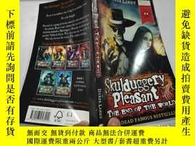 二手書博民逛書店skulduggery罕見pleasant derek landy 怪俠s p 先生Y212829 不祥 不祥