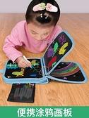 幼稚園兒童可擦涂鴉畫畫本 寶寶0-3-6歲涂色繪本書繪畫冊玩具【少女顏究院】