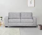【歐雅居家】艾菲鋼骨布沙發床-三人座-淺灰 / 沙發 / 布沙發 /三人沙發 / 12層內材
