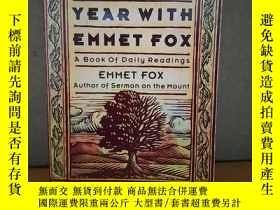 二手書博民逛書店Around罕見The Year With Emmet Fox: A Book Of Daily Readings