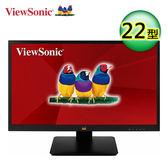【ViewSonic 優派】VA2205-MH 22型VA寬螢幕 【贈收納購物袋】