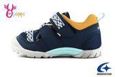 Moonstar 月星 日本機能鞋 中童 玩耍系列 洗滌速乾 運動鞋 護趾涼鞋 I9649#藍色◆OSOME奧森鞋業