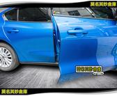 莫名其妙倉庫【4G027 車門隐形防撞條】19年福特Focus Mk4 車門隔音PVC膠條防護條配件改裝