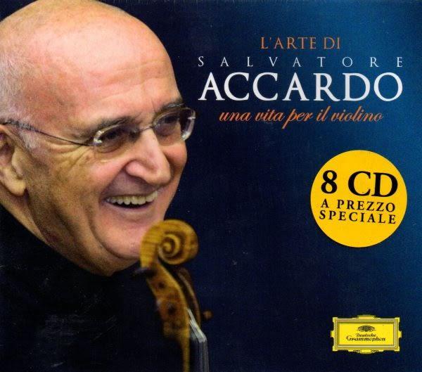 【停看聽音響唱片】【CD】Salvatore Accardo:L' Arte di Salvatore Accardo: Una Vita per il Violino
