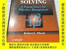 二手書博民逛書店Solving罕見Problem Solving A Potent Force for Effective Man