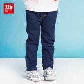 JJLKIDS 女童 經典舒適百搭牛仔褲(彩藍)