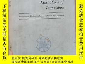 二手書博民逛書店characteristics罕見and limitations of transistors(P836)Y1