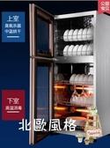 消毒柜商用立式家用小型碗筷消毒柜多層廚房碗柜雙門ZTP78K2xw