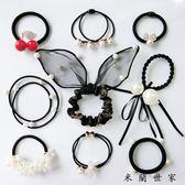 【618好康又一發】9件套發圈組合裝裝發飾頭飾