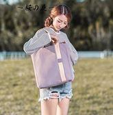 帆布包 木子錦囊/帆布包女單肩韓國文藝手提帆布袋女包手提包帆布包包  蒂小屋服飾
