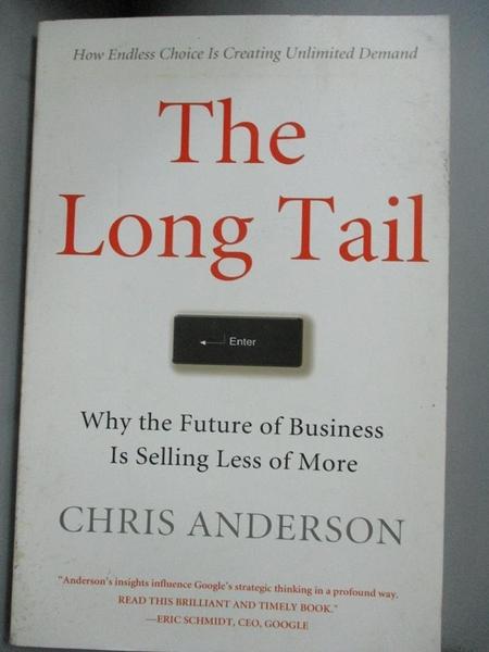 【書寶二手書T9/財經企管_FAH】The Long Tail: Why the Future of Business