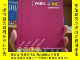二手書博民逛書店lonelyplanet孤獨星球Paris罕見condensed