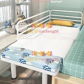 鐵藝兒童床單人床寶寶小床邊床加寬床嬰兒拼接大床【淘嘟嘟】