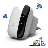 wifi中繼器300Mbps無線路由信號放大器增強器家用無線網路擴展器便攜穿牆橋接加強神器 陽光好物