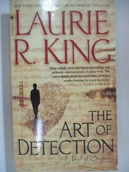 【書寶二手書T9/原文小說_A5M】The Art of Detection_King, Laurie R.