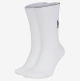 NIKE配件系列-U SNKR SOX CREW 2PR - AIR 白色長襪-NO.SX7804100
