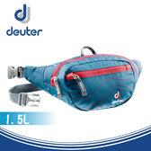 【Deuter 德國 Belt I 1.5L 休閒旅遊腰包《藍/紅》】39004/隨身腰包/臀包/自行車腰包/運動腰包★滿額送