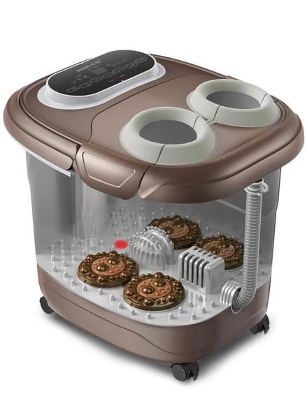 本博足浴盆器全自動高洗腳盆電動按摩加熱深泡腳桶足療機家用恒溫220VATF 美好生活居家館ATF