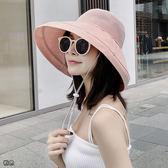 [免運] 《簍空帽》透氣網眼款大帽沿遮陽帽 防曬帽 漁夫帽 JYQ9615
