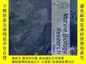 二手書博民逛書店Marine罕見Biology Research ( journal) 02 2018 海洋生物學研究學術期刊