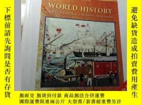 二手書博民逛書店world罕見history ( international e