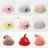 嬰兒帽子秋冬棉質0-6個月新生兒盆帽冬天保暖護鹵門男女寶寶胎帽【全館85折任搶】