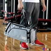 【貝貝】旅行袋 旅行包 干濕分離 手提包 雙肩 行李袋 大容量 健身包