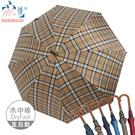 【雨之情】防曬紳士木中棒直傘6色 大傘面