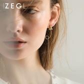 小眾設計冷淡風耳環女長款耳墜氣質簡約百搭韓國個性顯臉瘦的耳飾
