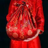 【優選】婚慶用品婚禮包袱皮新娘新人嫁妝喜盆包裹布