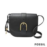 FOSSIL WILEY 真皮復古美型側背包-黑色 ZB7957001