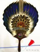 夏季寶寶扇子羽毛扇孔明八卦扇工藝禮品扇扇子朝鮮羽毛扇 晴天時尚館