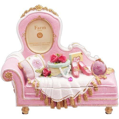 日本珠寶盒古典貴妃椅相框首飾盒944449通販屋