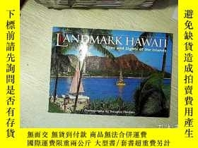 二手書博民逛書店LANDMARK罕見HAWAI I Sites and sights of the islands 夏威夷地標性景