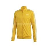 adidas 外套 Essentials Jacket 黃 白 男款 立領外套 運動休閒 【PUMP306】 EI4892