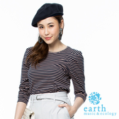 ❖ Hot item ❖  多色條紋設計T - earth music&ecology