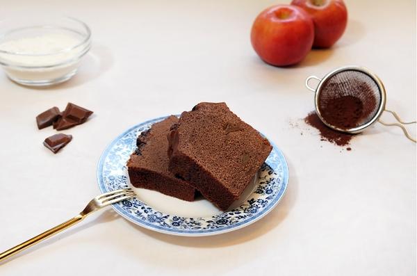 焦糖蘋果巧克力蛋糕(約500g)