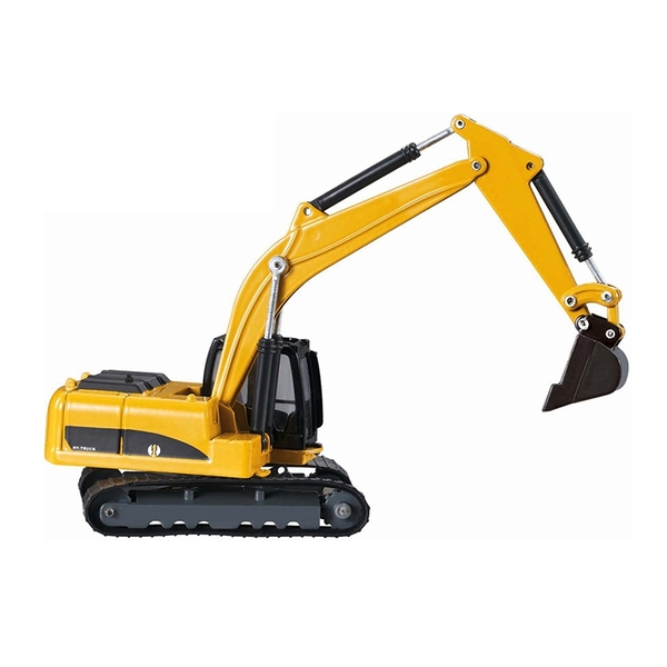 HY TRUCK華一 6012-2挖掘機 工程合金車模型車 怪手 挖土機(1:60)【楚崴玩具】