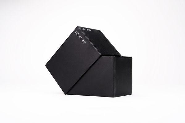 KOMONO Magnus The One 馬格斯一體設計款-性格黑/46mm